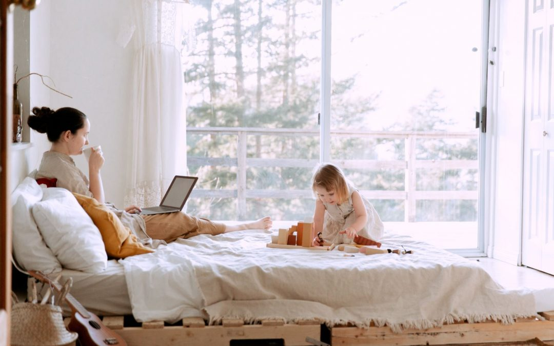 4 Strategies to Make Remote Work Less Stressful with Young Kids at Home